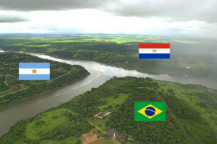 حدود البرازيل