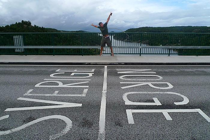 حدود النرويج