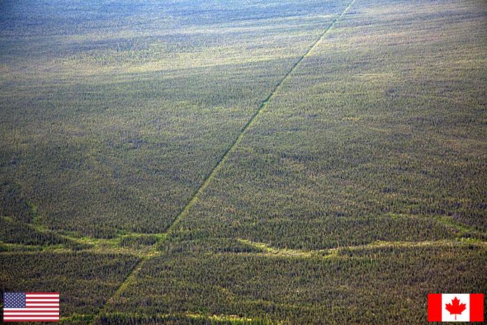 حدود كندا