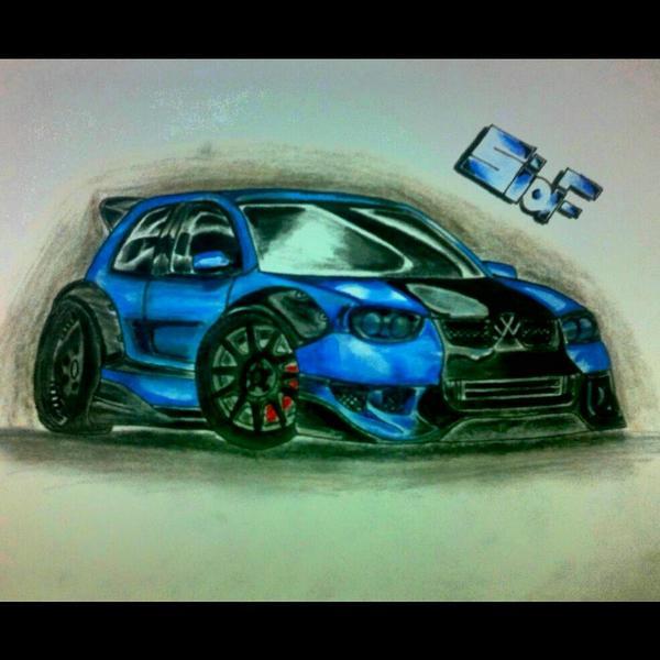 رسم سيارات