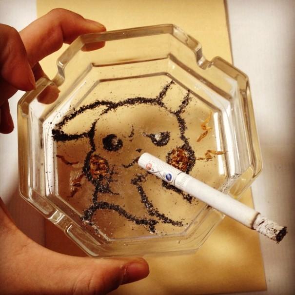 رماد السيجارة  2