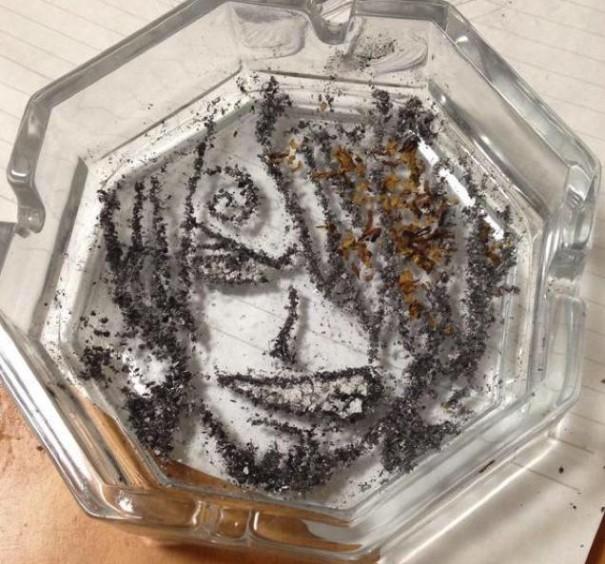 رماد السيجارة  4