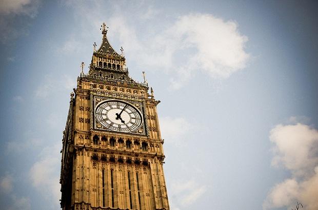 برج الساعة بيج بن في لندن