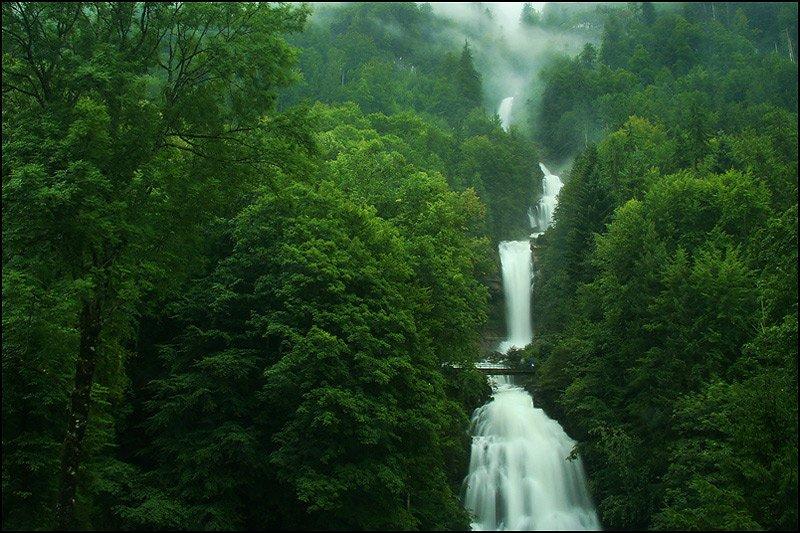 شلالات غييسباتش، سويسرا