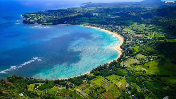 جُزر هاواي في المحيط الهادي.جُزر هاواي في المحيط الهادي.