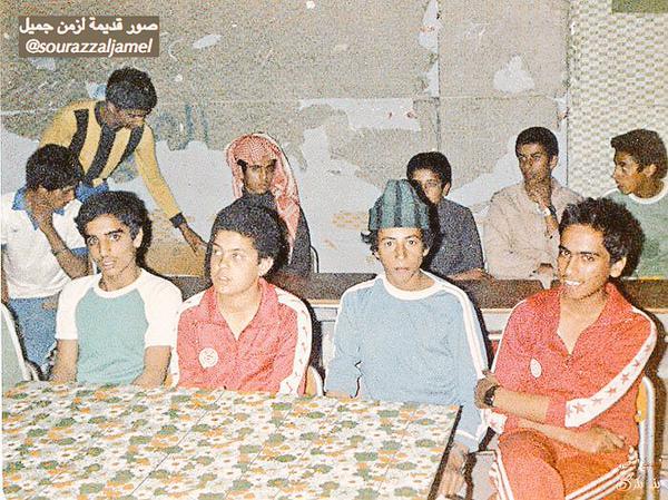 طلاب من بني بكر من قبائل بني شهر في أحد المراكز الصيفية