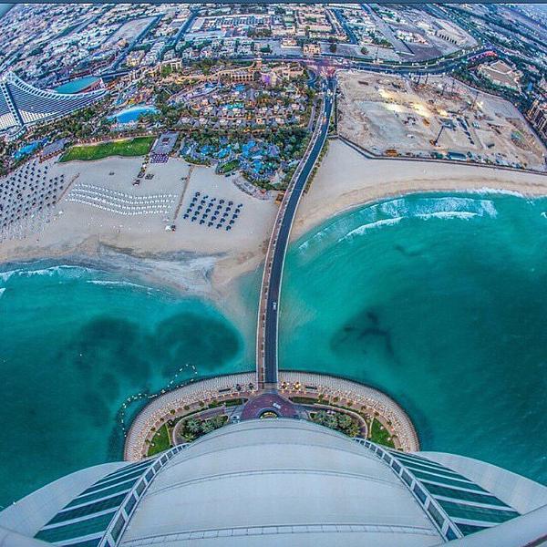 صور برج العرب في دبي