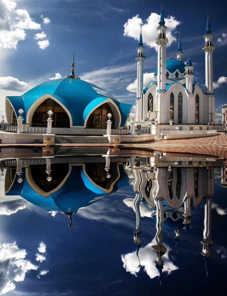 مسجد قول شريف في روسيا.