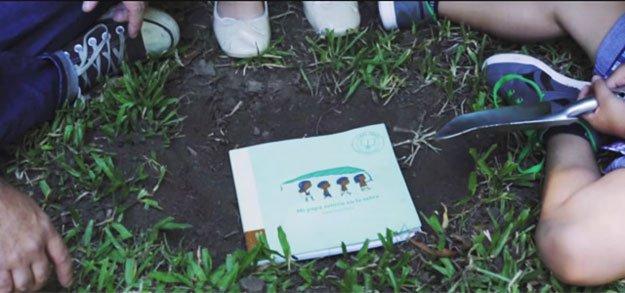 كتاب أطفال يمكن زراعته