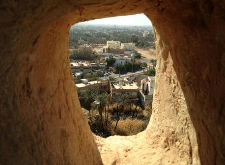 من أعلى القلعة