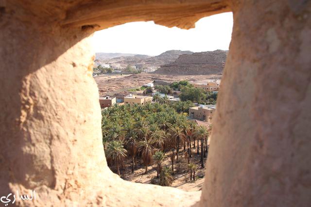 نوافذ القلعة