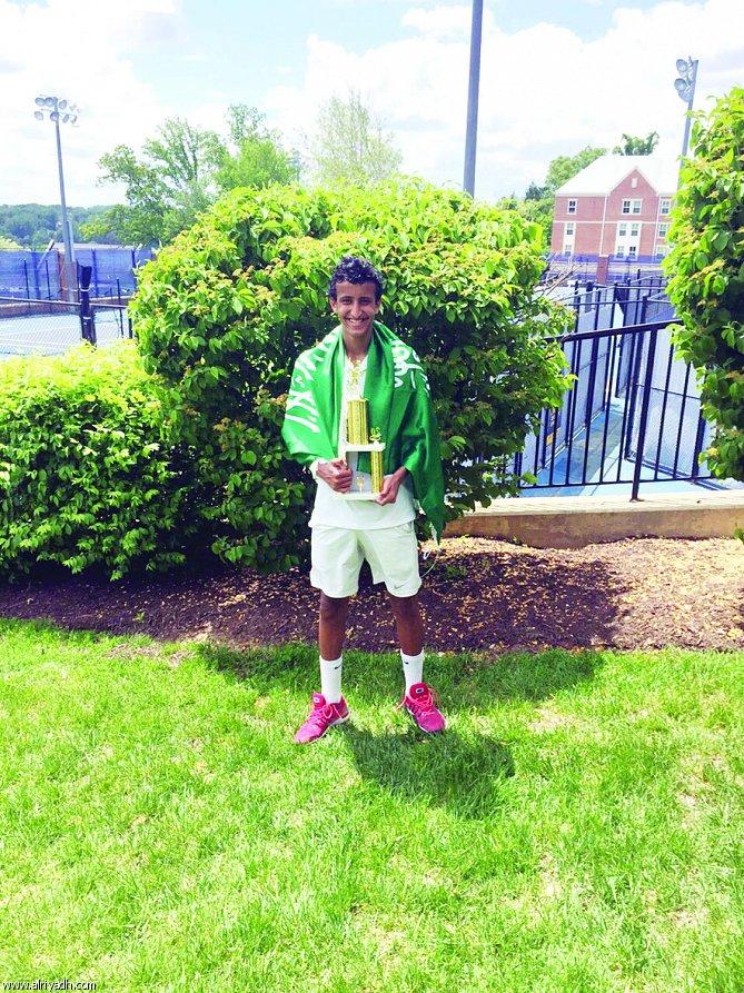 لاعب التنس عمار الحقباني يحقق ذهبية واشنطن للرجال