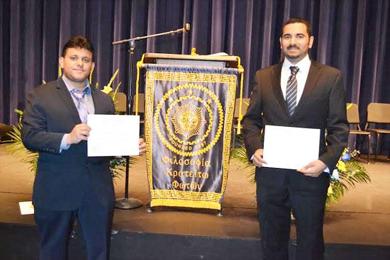 مبتعثان سعوديان يفوزان ب جائزة التميز والشرف العلمية بأميركا المهندسان محمد عبدالله المحسن وعبدالكريم الزهراني