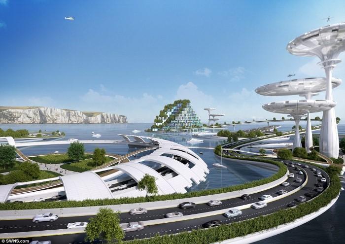 الهندسة المستحيلة لـ مدن المستقبل