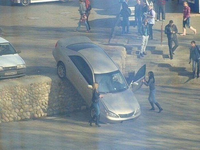 حوادث سيارات مضحكة و غريبة