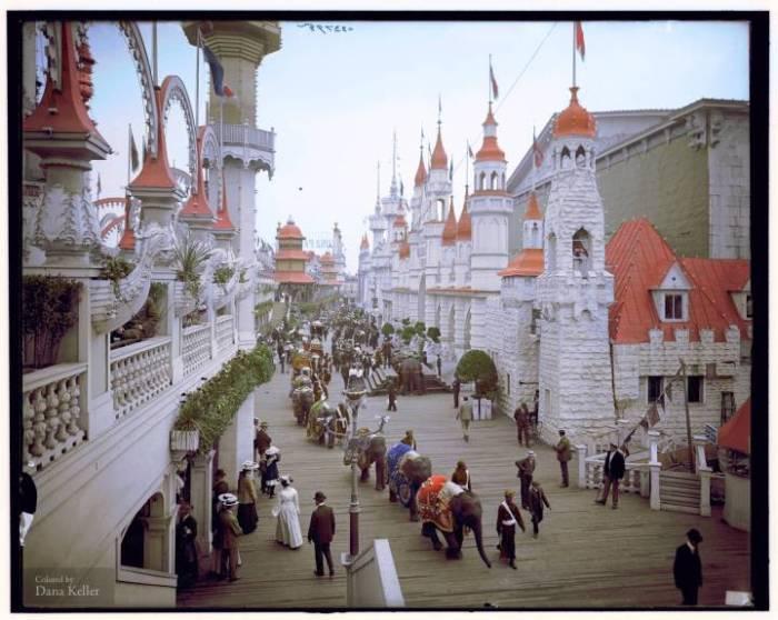 كوني ايلاند، نيويورك، (1905)