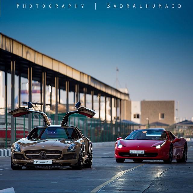 عالم السيارات الفاخرة مع المصور السعودي بدر الحميد