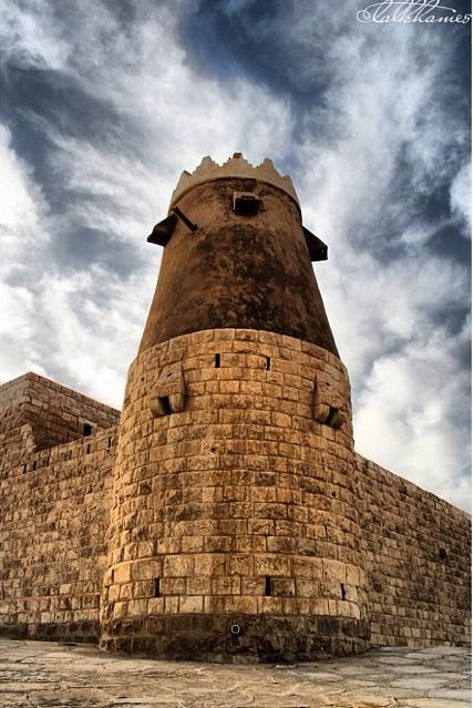 كاف قصر معماري أثري في السعودية