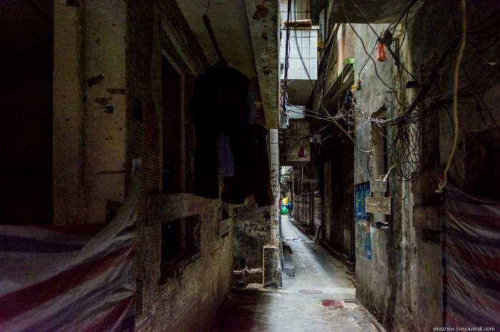 الأحياء الفقيرة في الصين