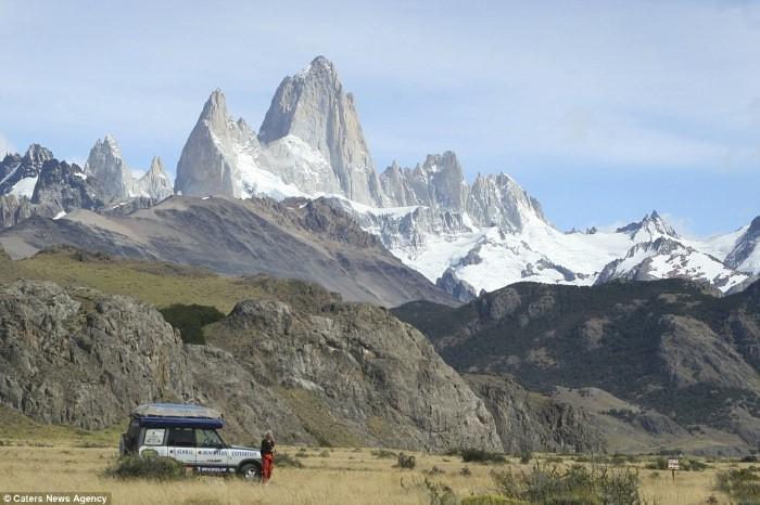 الجبال الثلجية في الأرجنتين