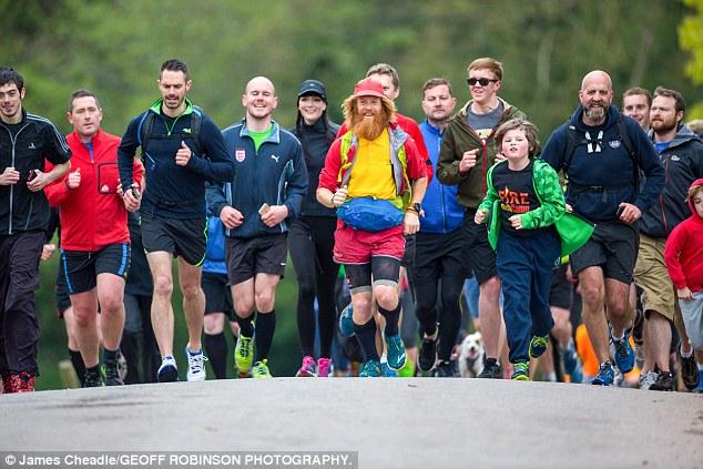 ماراثون ركض في بريطانيا