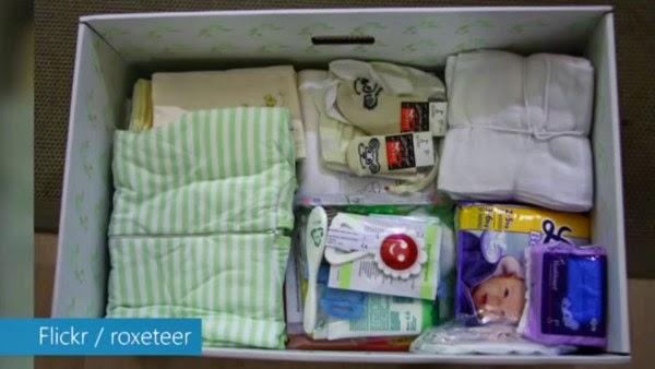 3محتويات صندوق الأمومة في فنلندا