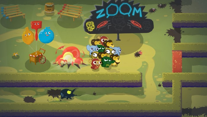 لعبة Super Exploding Zoo