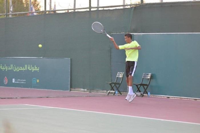 لاعب التنس السعودي عمار الحقباني