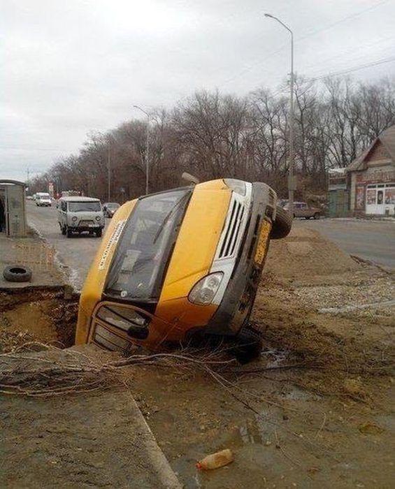 حوادث السيارات الأغرب في العالم