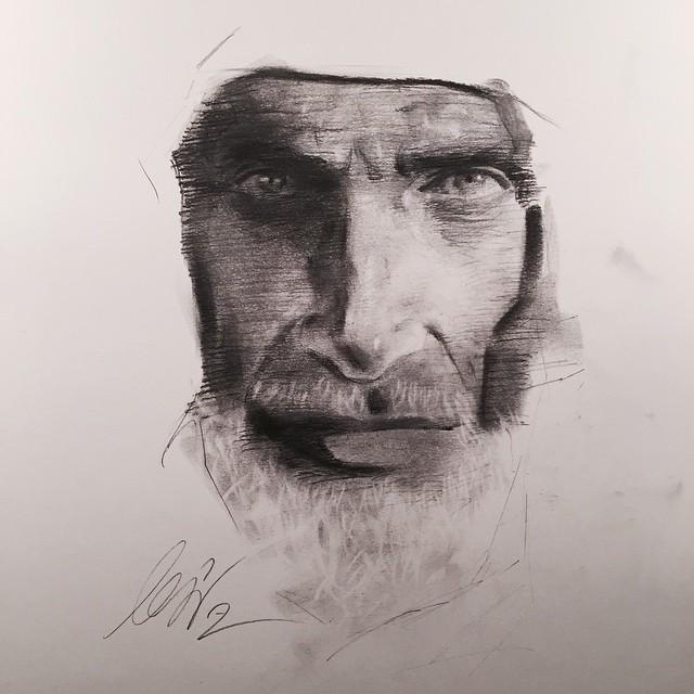 الرسم بقلم الرصاص