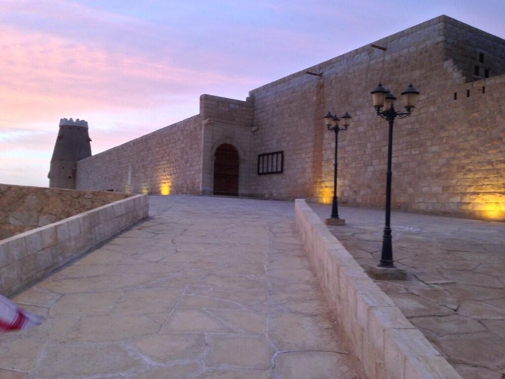 آثار المملكة العربية السعودية في قرية كاف في منطقة الجوف