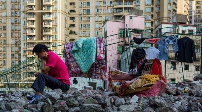 الحياة اليومية في الأحياء الفقيرة بـ مدينة قوانتشو