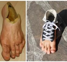 Strange-shoes
