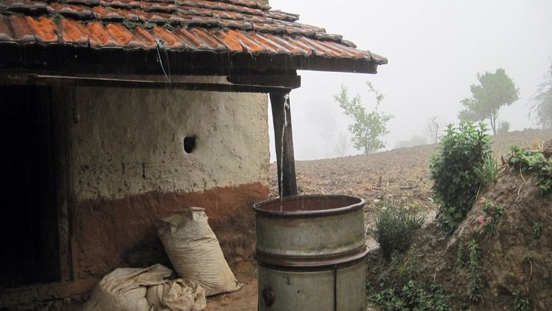 جمع مياه الأمطار