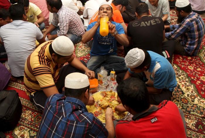 إفطار رمضان في قطر