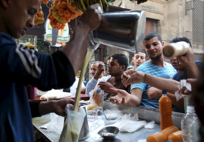 الإفطار في مصر