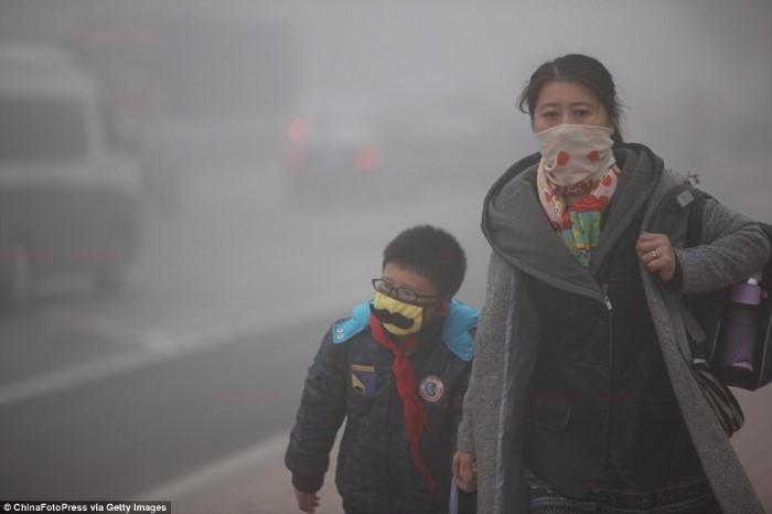 التلوث في الصين2