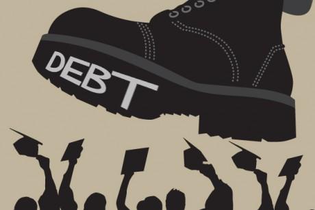 الديون تسحق الطلاب
