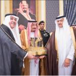 الملك سلمان يكرم الاتصالات السعودية لمساهمتها في مشروع خير مكة