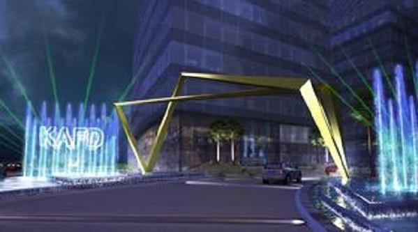 بوابة الدخول الرئيسية لمركز الملك عبد الله المالي