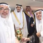 خادم الحرمين الشريفين يثمن دور الاتصالات السعودية في دعم الرياضة السعودية