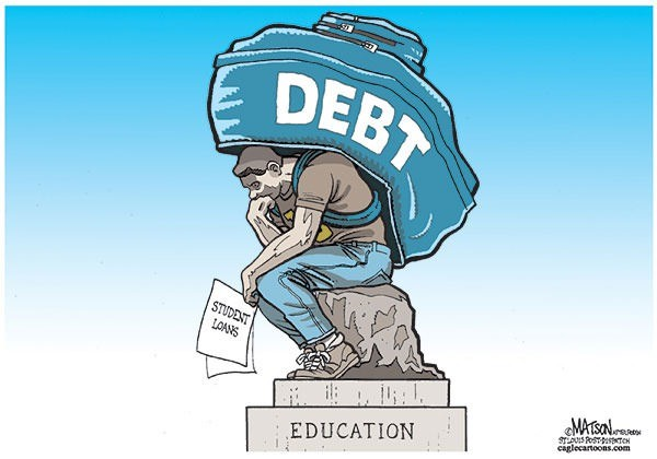 ديون متراكمة