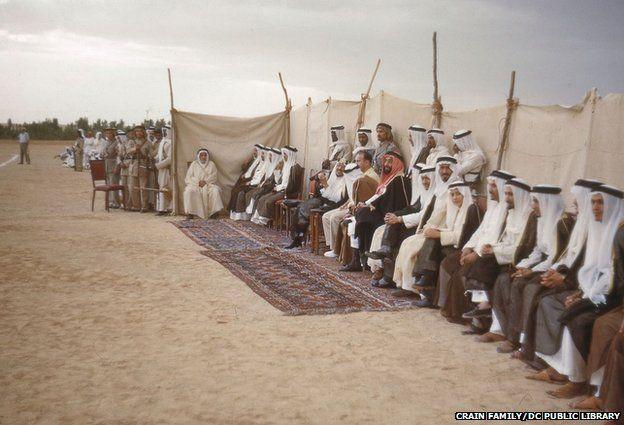 زيارة فريق طبي أمريكي للملك عبد العزيز7