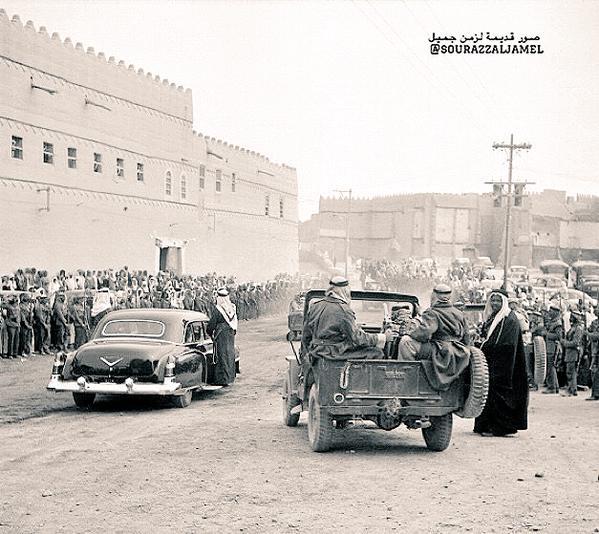 مدينة الرياض قبل حوالي 60 سنة.
