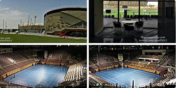 صور حديثة للصالة الرياضية المغلقة بمدينة الملك عبدالله الرياضية بـ جدة