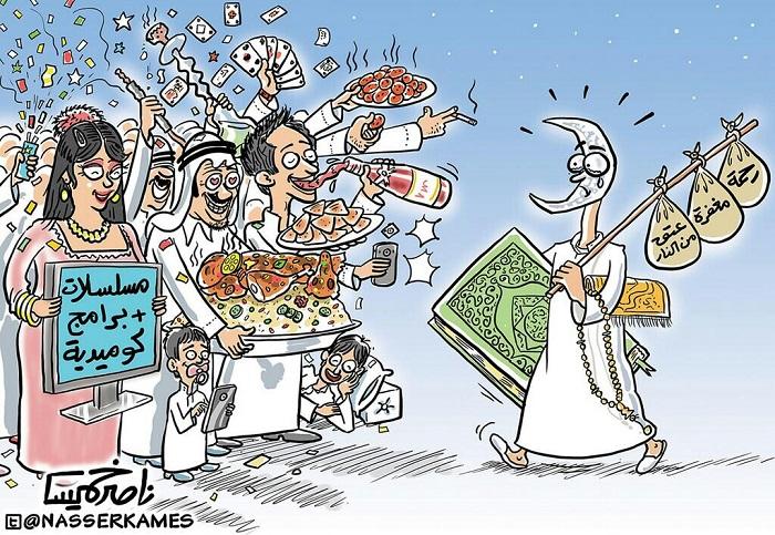 كاريكاتير ناصر خميس2