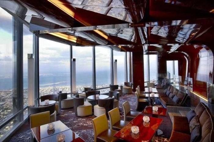 مطعم أتموسفير من الطابق 122