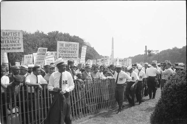 مظاهرة المطالبة بالحقوق المدنية