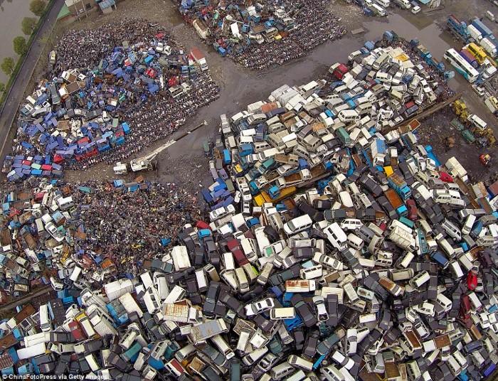 مقبرة السيارات في الصين