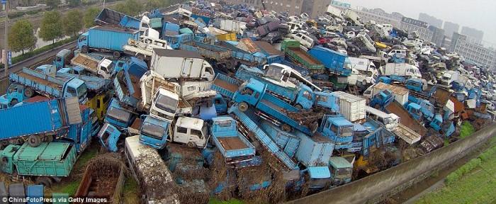 مقبرة المركبات في الصين
